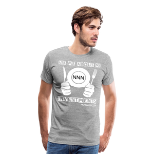 NNN Restaurant Investment Tee - heather gray
