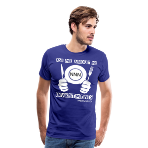 NNN Restaurant Investment Tee - royal blue