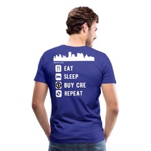 Load image into Gallery viewer, NNN Restaurant Investment Tee - royal blue