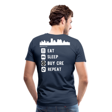 Load image into Gallery viewer, NNN Restaurant Investment Tee - navy