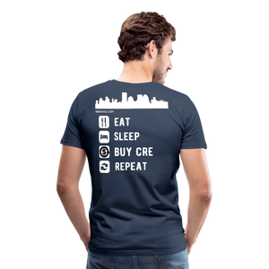 NNN Restaurant Investment Tee - navy