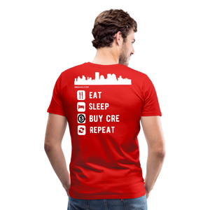 NNN Restaurant Investment Tee - red