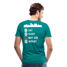 Load image into Gallery viewer, NNN Restaurant Investment Tee - teal