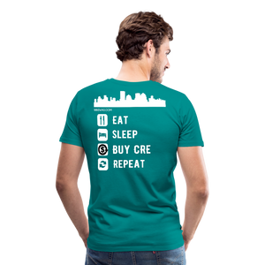 NNN Restaurant Investment Tee - teal