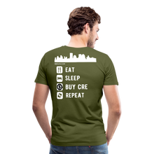 Load image into Gallery viewer, NNN Restaurant Investment Tee - olive green
