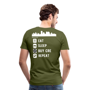 NNN Restaurant Investment Tee - olive green