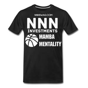 Mamba Mentality | Nothing But Net Tee - black