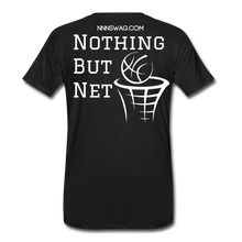 Load image into Gallery viewer, Mamba Mentality | Nothing But Net Tee - black