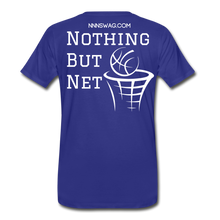 Load image into Gallery viewer, Mamba Mentality | Nothing But Net Tee - royal blue
