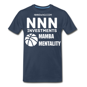 Mamba Mentality | Nothing But Net Tee - navy