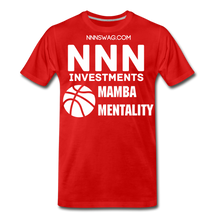 Load image into Gallery viewer, Mamba Mentality | Nothing But Net Tee - red
