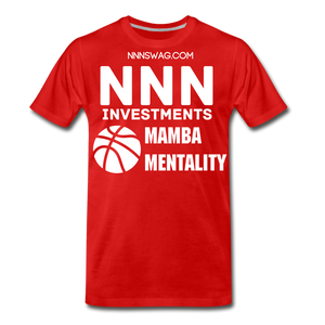 Mamba Mentality | Nothing But Net Tee - red