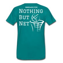 Load image into Gallery viewer, Mamba Mentality | Nothing But Net Tee - teal