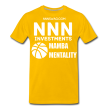 Load image into Gallery viewer, Mamba Mentality | Nothing But Net Tee - sun yellow
