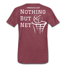 Load image into Gallery viewer, Mamba Mentality | Nothing But Net Tee - heather burgundy