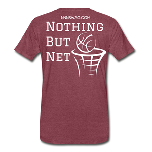 Mamba Mentality | Nothing But Net Tee - heather burgundy