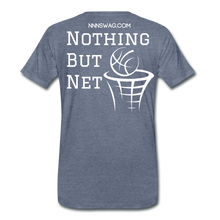 Load image into Gallery viewer, Mamba Mentality | Nothing But Net Tee - heather blue