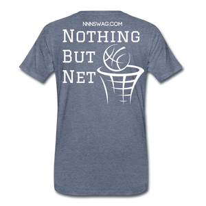 Mamba Mentality | Nothing But Net Tee - heather blue