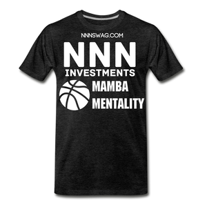 Mamba Mentality | Nothing But Net Tee - charcoal gray