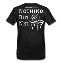 Load image into Gallery viewer, Mamba Mentality | Nothing But Net Tee - charcoal gray
