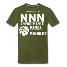 Load image into Gallery viewer, Mamba Mentality | Nothing But Net Tee - olive green