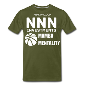 Mamba Mentality | Nothing But Net Tee - olive green