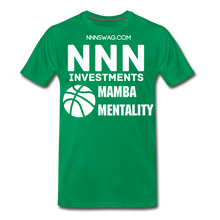 Load image into Gallery viewer, Mamba Mentality | Nothing But Net Tee - kelly green