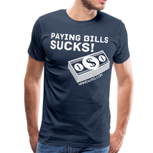 Load image into Gallery viewer, Paying Bills Sucks Tee - navy