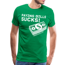 Load image into Gallery viewer, Paying Bills Sucks Tee - kelly green