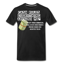 Load image into Gallery viewer, Cash Rules Everything* Tee - black