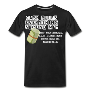 Cash Rules Everything* Tee - black
