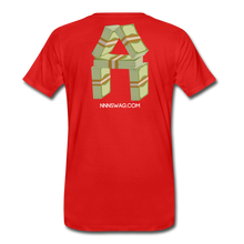 Load image into Gallery viewer, Cash Rules Everything* Tee - red