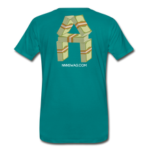 Load image into Gallery viewer, Cash Rules Everything* Tee - teal