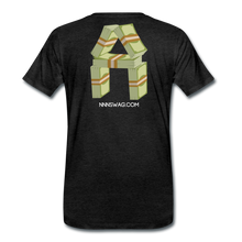 Load image into Gallery viewer, Cash Rules Everything* Tee - charcoal gray