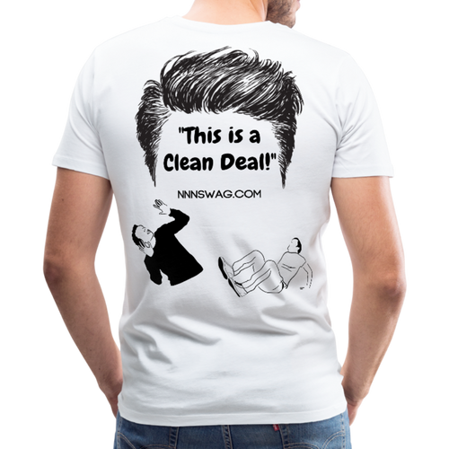 Hairy Deal Tee - white