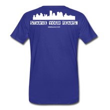 Load image into Gallery viewer, Feed Your Dreams; Starve Your Fears Tee - royal blue