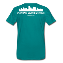 Load image into Gallery viewer, Feed Your Dreams; Starve Your Fears Tee - teal