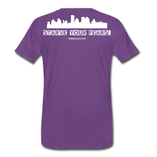 Load image into Gallery viewer, Feed Your Dreams; Starve Your Fears Tee - purple
