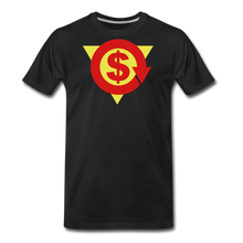 Load image into Gallery viewer, S on Your Chest Tee - black