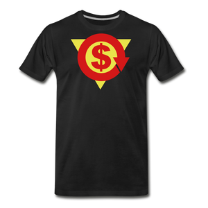 S on Your Chest Tee - black