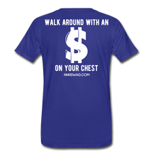Load image into Gallery viewer, S on Your Chest Tee - royal blue
