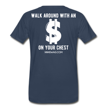 Load image into Gallery viewer, S on Your Chest Tee - navy