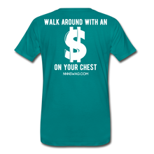 Load image into Gallery viewer, S on Your Chest Tee - teal