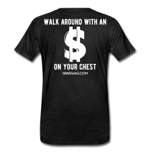 Load image into Gallery viewer, S on Your Chest Tee - charcoal gray