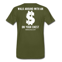 Load image into Gallery viewer, S on Your Chest Tee - olive green