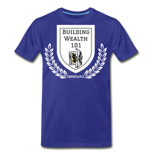 Load image into Gallery viewer, Building Wealth 101 - royal blue