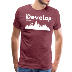 iDevelop - heather burgundy