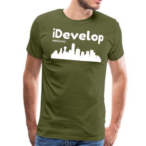 iDevelop - olive green