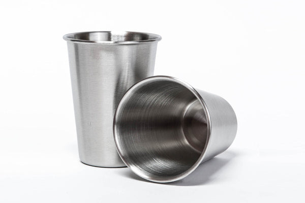 0fa9cd8f895 Stainless Steel Cups - 8oz (set of 2)