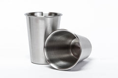 Stainless Steel Cups - 8oz (set of 2)